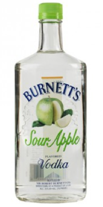 Burnetts Vodka Sour Apple